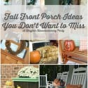 Fun Fall Organizing Must-Do's