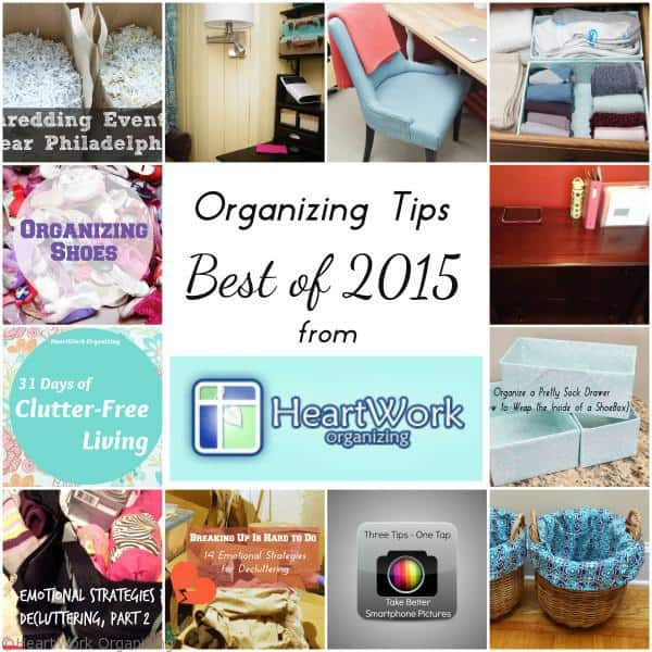 Best Organizing Tips of 2015