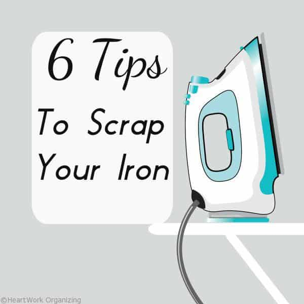 How to eliminate ironing