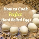 How to Cook Perfect Hard Boiled Eggs