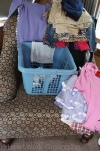 organized laundry looks like hoarding