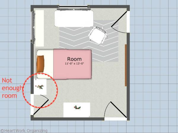 space planning to ensure furniture fit