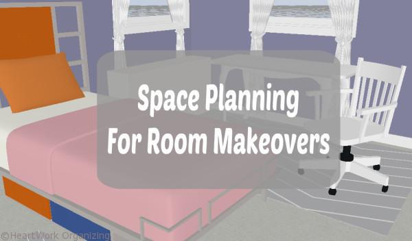 space planning for room makeovers title