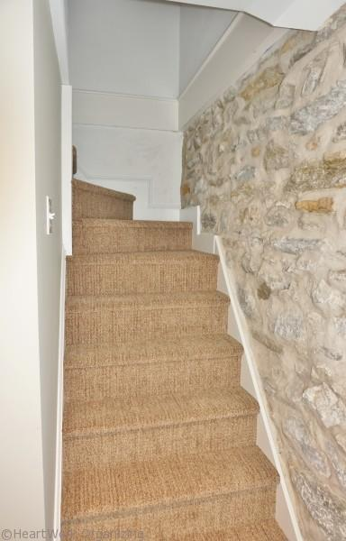 basement stairs for basement makeover