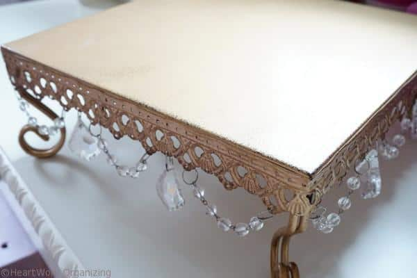 cake stand-to- nightstand