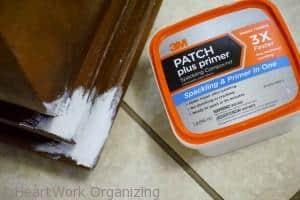 3M Patch plus primer for furniture flip