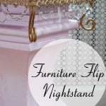 Furniture Flip: Nightstand with Modern Masters