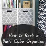 How to Rock the Basic Cube Shelves