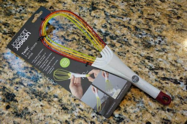 flat whisks helps organize the kitchen