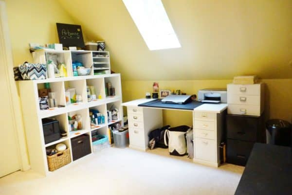 organizing home office for Arbonne rep