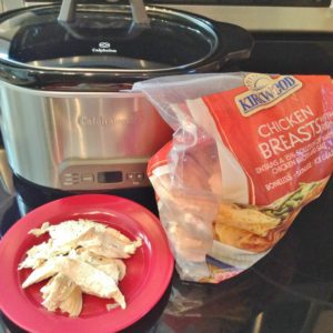 Organizing dinner- quick summer dinner fix with slow cooker