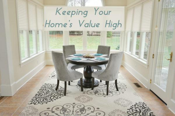 Keeping Your Home's Value High, ideas for staging