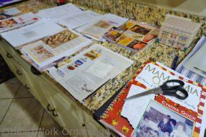organize recipes into groups