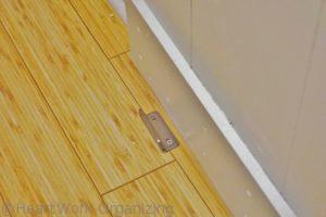 barn door floor hardware