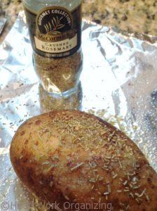 rosemary baked potatoes