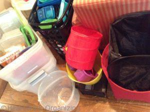 bins as clutter