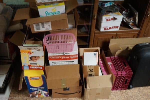 boxes are the clutter