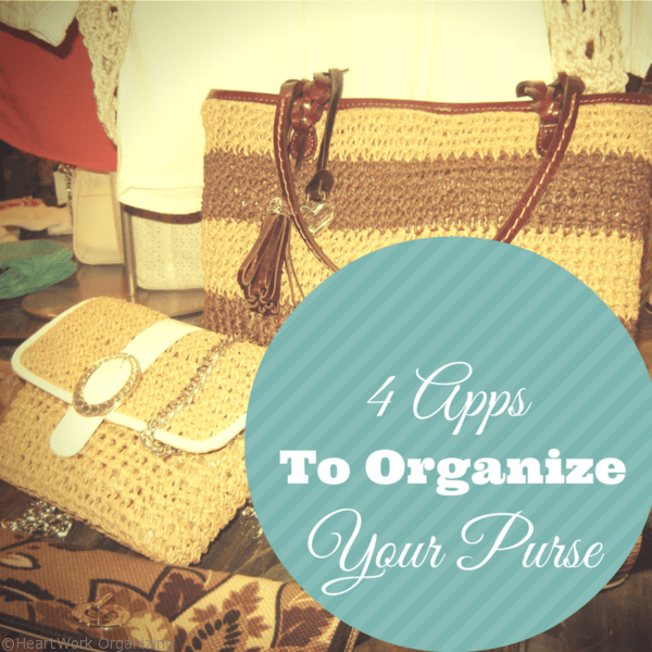 4 apps to organize your purse