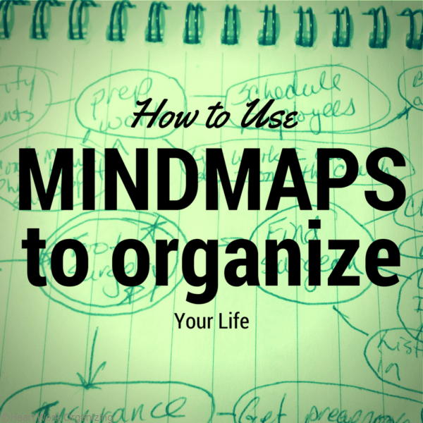 How to use mindmaps to organize your life and projects