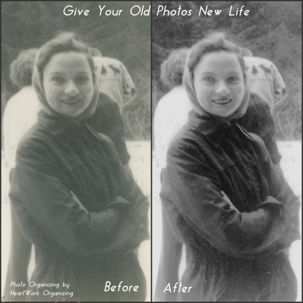 Photo Organizing and Restoration Example