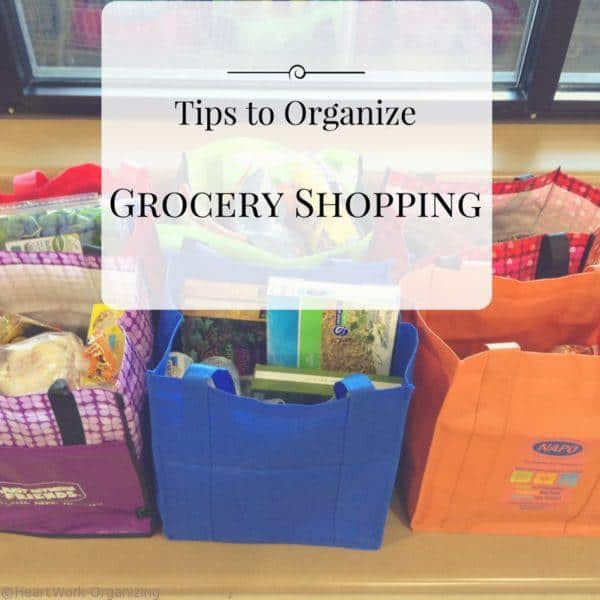 Tips to organize grocery shopping