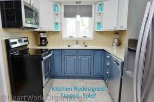 Kitchen Redesigned Staged Sold