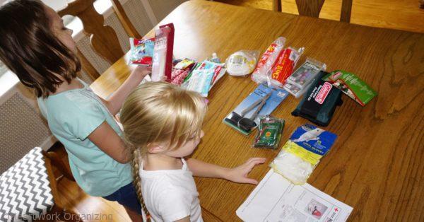make a family emergency kit