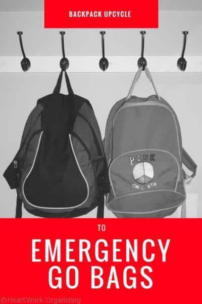 How to make a family emergency GO bag