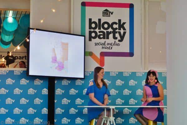 AwwSam t HGTV Magazine block party 2017