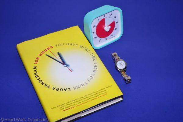 168 Hours book review, organizing time