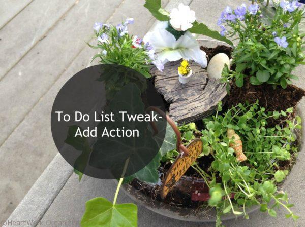 To Do List Tweak- Add Action