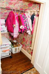 closet in staged home
