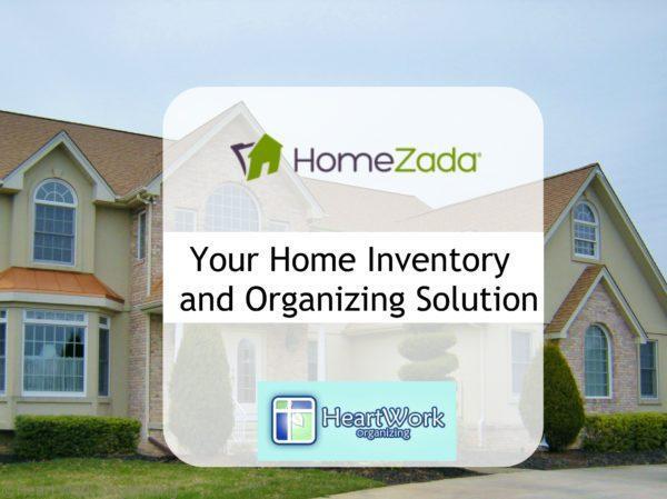 HomeZada home inventory app