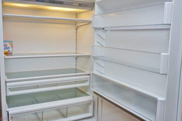 home staging refrigerator