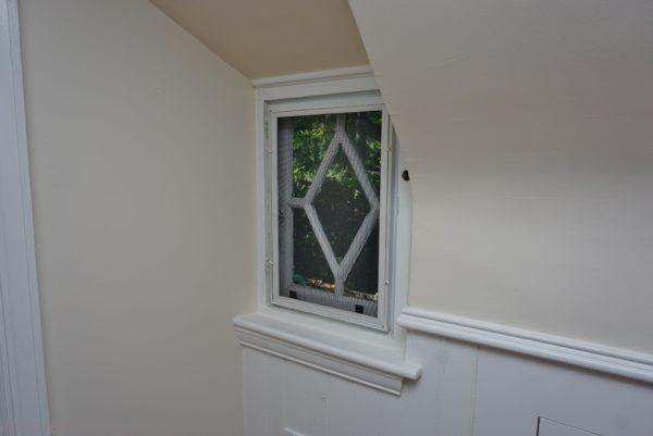 dormer windows in staged home