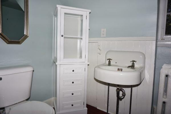 staged home bathroom