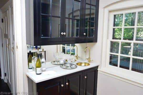 home staging butlers pantry