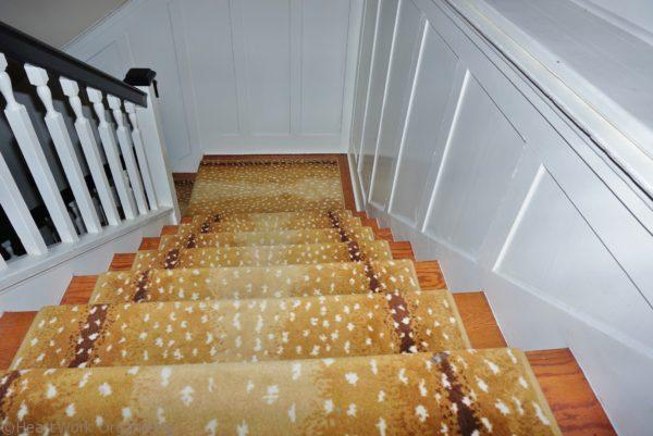 home staging stairway