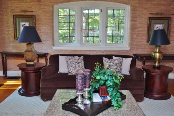 windows in staged home
