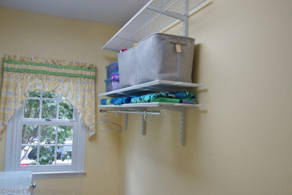shelving for laundry room