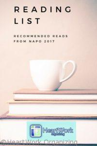 Reading List from NAPO 2017