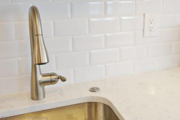 beveled subway tile for kitchen remodel