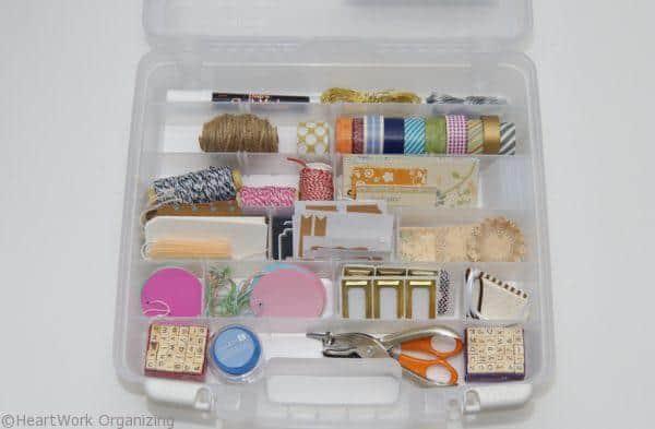 organized label case