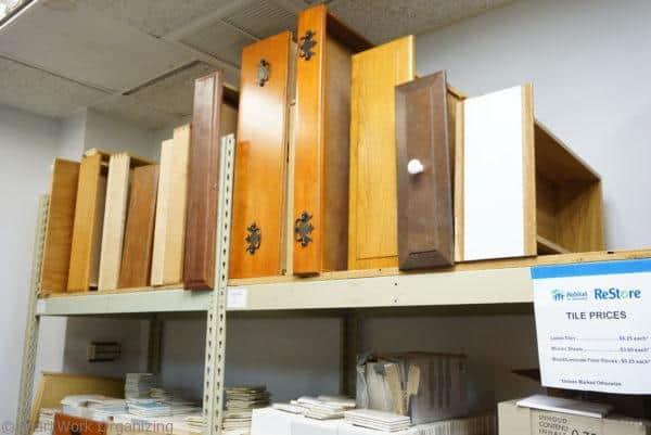 habitat for Humanity ReStore has drawers
