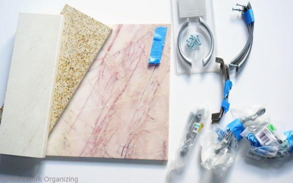 Marble tray DIY upcycle