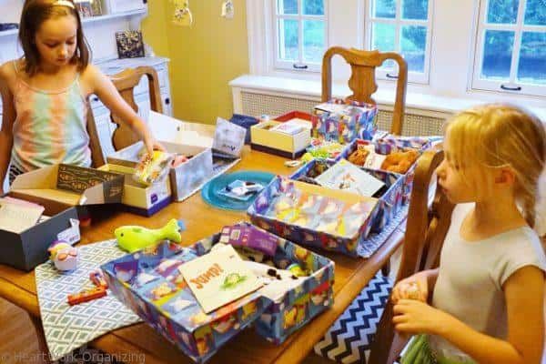 Operation Christmas Child helps declutter