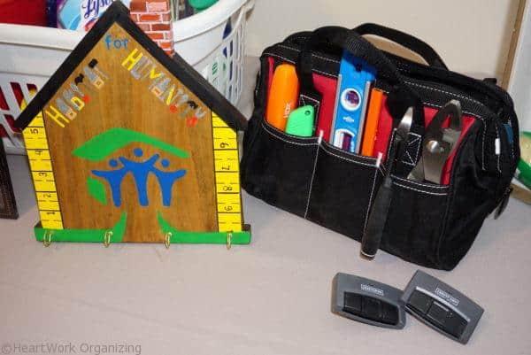 Habitat for Humanity Home Dedication tools