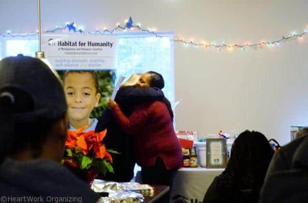 Habitat for Humanity Home Dedication (26) hugs