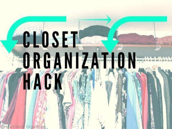 Closet Organization Hack