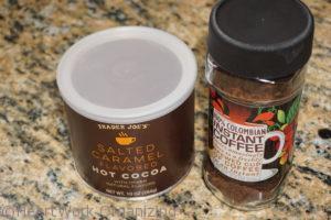 DIY Mocha Coffee Alternative ingredients